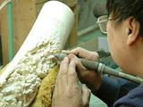 Elfenbeinbearbeitung ChinaTRAFFIC T Milliken