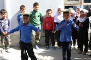 Auch spielerisches Lernen gehört zum Konzept der Helping Hands School