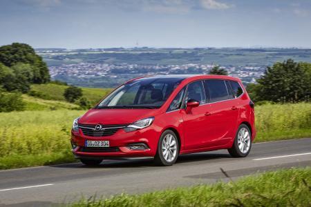 Einfach der Schönste: Der neue Opel Zafira bekam 36,3 Prozent der Stimmen und wurde mit großem Abstand zum schönsten Van gewählt