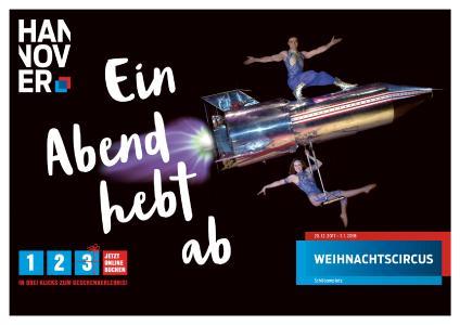 HMTG Winterkampagne Motiv Weihnachtscircus