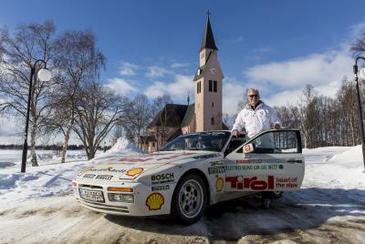 Der ehemalige Porsche Versuchstechniker Dieter Röscheisen wiederholte nach 30 Jahren die Nordkapp-Tour