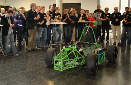 Erster Osnabrücker Rennwagen mit E-Motor