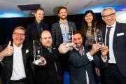 Preisverleihung ZukunftsGGEWinner: Jury und Preisträger / Foto: GGEW AG/Marc Fippel Fotografie