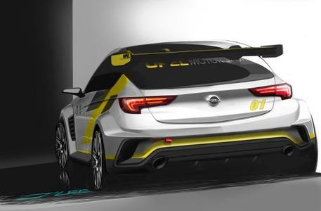 Powered by Opel: Der neue Astra TCR verfügt über einen rund 330 PS starken Zweiliter-Turbomotor