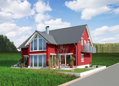 Für intensive und dunkle Farben ein Muss: Caparol Dämmsysteme und Fassadenfarben schützen auch gegen temperaturbedingte Spannungen und Risse bei starker Sonneneinstrahlung, Foto: Caparol Farben Lacke Bautenschutz