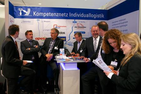 Auf dem größten Logistik-Kongress Deutschlands stellt sich das Osnabrücker Kompetenznetz Individuallogistik (KNI) vor, zu dem auch die Hochschule Osnabrück gehört
