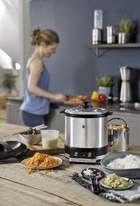 """WMF KÜCHENminis® Reiskocher mit Lunch-to-go-Box / """"Reis, Quinoa, Gemüse & mehr schonend garen"""""""
