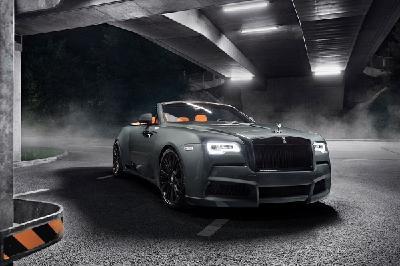Unter der Bezeichnung SPOFEC OVERDOSE macht der deutsche Veredler aus dem Rolls-Royce Dawn ein noch exklusiveres Open-Air-Erlebnis.