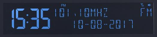 NX 4371 11 VR Radio Digitales DAB FM Stereo Radio mit Wecker