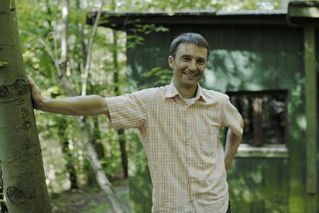 Carsten Gans bei Natur-Coach-Ausbildung