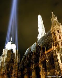 Illumination für den Stephansdom