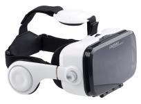 auvisio Virtual-Reality-Brille mit Headset & Bluetooth-Game-Controller im Set