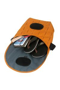 2 Innentaschen, Fach fürs mobile phone und Stifte