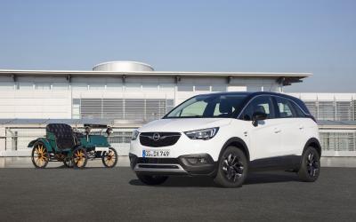 Opel Crossland X Opel Lutzmann