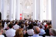 Graduierung in der Lübecker St. Petri Kirche / Foto: TH Lübeck