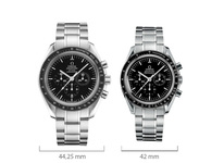 "Big is beautiful: Die Speedmaster ""Moonwatch"" jetzt im XL-Format"