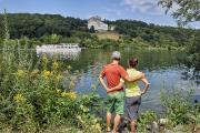 Bild 2: König Ludwigs Walhalla thront über der Donau / Foto: Florian Trykowski