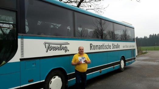 Bus Romantische Straße  Boris