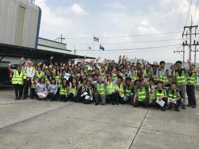 Die rund 70 Mitarbeiter der MHG Thailand werden übernommen und freuen sich auf ihre Zukunft bei Huf Thailand.