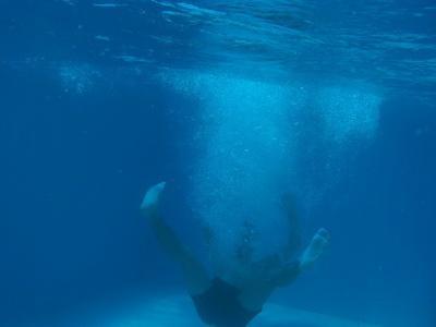Tom Daley ging baden