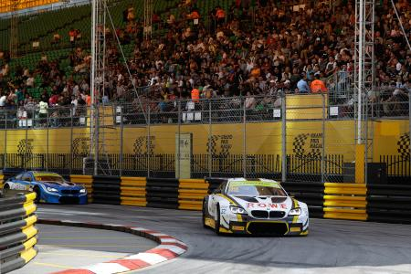 Tom Blomqvist, BMW M6 GT3, ROWE Racing, FIA GT World Cup, Macau