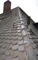 Auch der Blitzschutz sowie die Durchdringungen z. B. für Lüfterrohre werden beim DachCheck einer Sichtprüfung unterzogen.