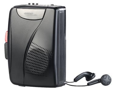 auvisio Mobil-Kassettenspieler Digitalisierer und Voice-Recorder