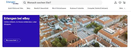 Screenshot   Erlangen bei eBay