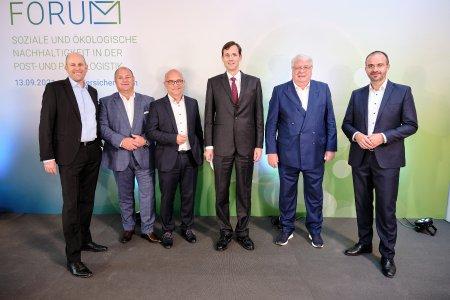 Forum für soziale und ökologische Nachhaltigkeit in der Post- und Paketlogistik der VPV Versicherungen in Stuttgart / Bild: Thomas B. Jones