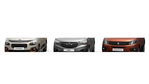 Markante Gesichter: Erster Ausblick auf die neuen Hochdachkombis von Citroën, Opel und Peugeot