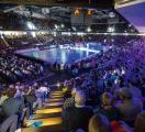 Tolle Handball-Stimmung in der ARENA: HC Erlangen gegen GWD Minden (HJKrieg, Erlangen)
