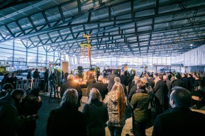 """Rund 10.000 Quadratmeter Innenfläche bietet die neue """"3C"""".  Foto: obx-news/NürnbergMesse"""