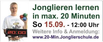 Weltrekordversuch am 15.9. in Eberswalde
