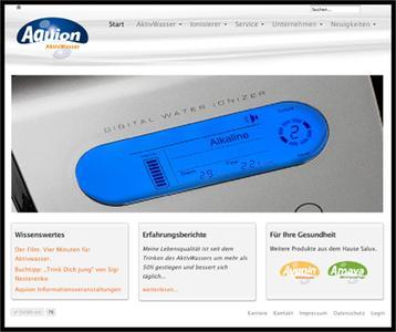 Die neue Salux Homepage: www.salux-online.de