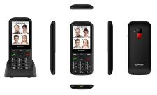 simvalley MOBILE Komfort-Handy XL-950 mit Garantruf Premium, Bluetooth & 7,1-cm-Farb-Display