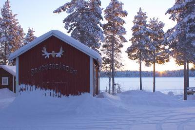 Winter in Schwedisch Lappland © Sandsjögården