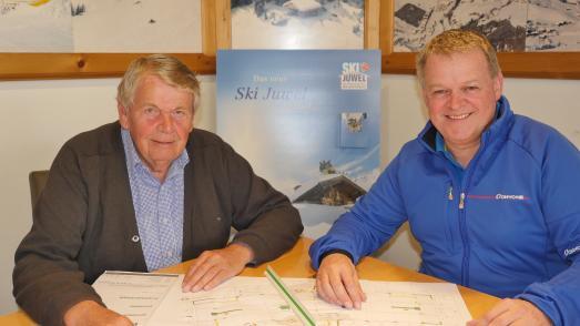 Geschäftsführer der Wildschönauer Bergbahnen Krogmann und Schäffer
