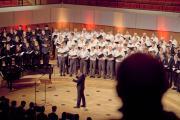 Junges Ensemble, Bergfinken, Unichor (Leitung: Gunter Berger)