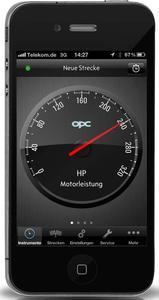Jetzt macht Opel mit der OPC PowerApp als erster Hersteller ausgesuchte, leistungsbezogene Daten auf Apple-Smartphones zugänglich und eröffnet technikaffinen Liebhabern sportlicher Fahrzeuge eine ganz neue Welt