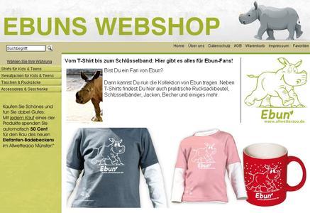 Neu Jetzt Gibt Es Einen Webshop Fur Ebun Artikel Allwetterzoo Munster Westfalischer Zoologischer Garten Munster Gmbh Pressemitteilung Lifepr