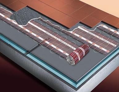 Aeg thermo boden behaglichkeit wo immer man geht und for Riscaldamento elettrico