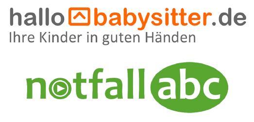 Logo HalloBabysitter, Logo Notfall-ABC