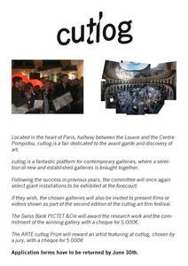 cutlog Galerie Anmeldung bis zum 30. Juni 2012