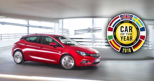 Auto des Jahres 2016: Der neue Opel Astra ist Treiber des Wachstums