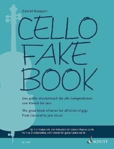 Schott ED23050 Cello Fake Book