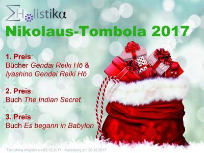 Bis zum 05. Dezember können facebook user noch an der Holistika Nikolaus-Tombola teilnehmen, am 06. Dezember werden tolle Buchpreise verlost!