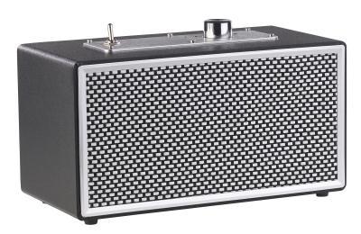 ZX 1711 1 auvisio Mobiler Retro Lautsprecher mit Bluetooth 4.1