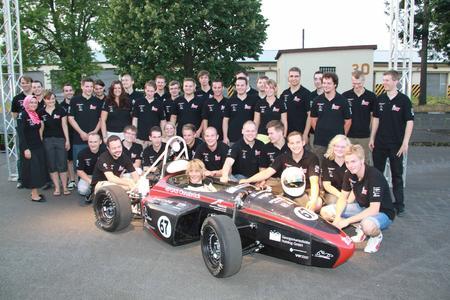 Das Ignition Racing Team der FH Osnabrück in der vierten Generation