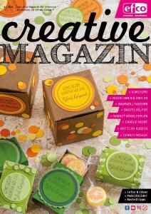 Von Kreativen für Kreative - das efco creative MAGAZIN