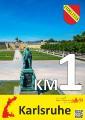 KM Schild Karlsruhe / Bildnachweis: Marathon Karlsruhe e.V.